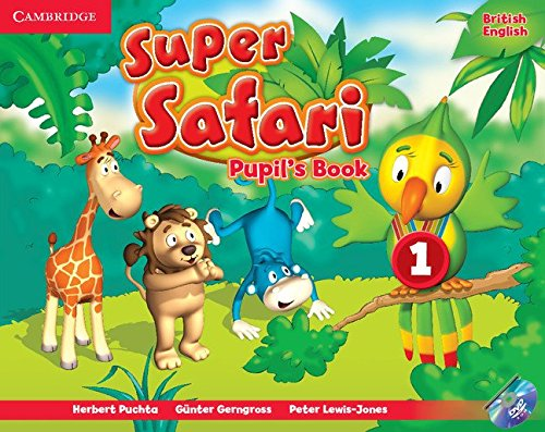 Super Safari Level 1 Pupil's Book with DVD-ROM By Herbert Puchta