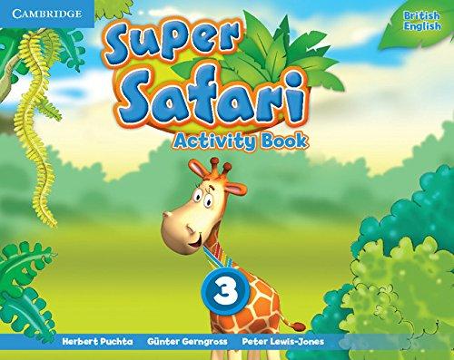 Super Safari Level 3 Activity Book By Herbert Puchta