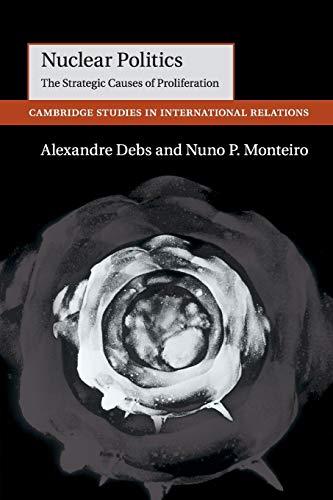 Nuclear Politics By Alexandre Debs (Yale University, Connecticut)
