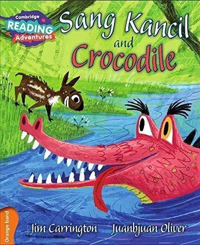 Sang Kancil and Crocodile Orange Band By Jim Carrington