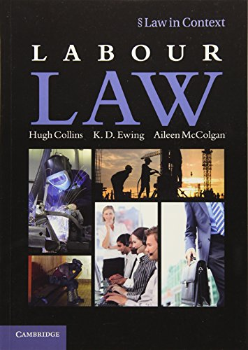 Labour Law by Hugh Collins