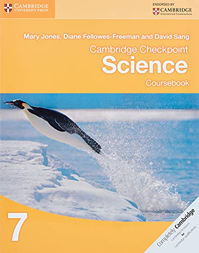 Cambridge Checkpoint Science Coursebook 7 von Mary Jones