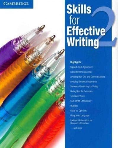Skills for Effective Writing Level 2 Student's Book By Other