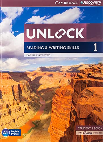Unlock Level 1 Reading and Writing Skills Student's Book and Online Workbook: Level 1 by Sabina Ostrowska