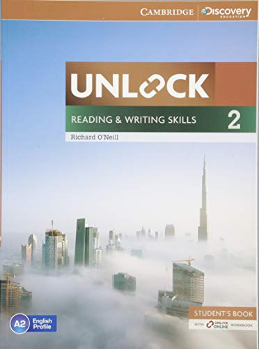 Unlock Level 2 Reading and Writing Skills Student's Book and Online Workbook By Richard O'Neill