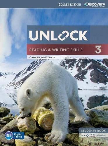 Unlock Level 3 Reading and Writing Skills Student's Book and Online Workbook By Carolyn Westbrook