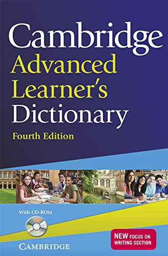 Cambridge Advanced Learner's Dictionary with CD-ROM By Cambridge University Press