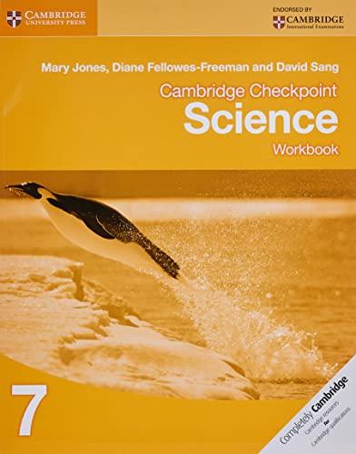 Cambridge Checkpoint Science Workbook 7 von Mary Jones