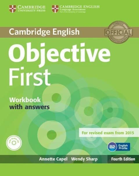 Objective First Workbook with Answers with Audio CD by Sharp, Wendy 1107628458