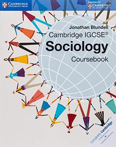 Cambridge IGCSE (R) Sociology Coursebook von Jonathan Blundell