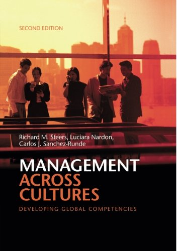 Management Across Cultures: Developing Global Competencies By Khalid Ismail