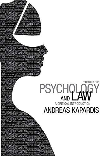 Psychology and Law By Andreas Kapardis (University of Cyprus)