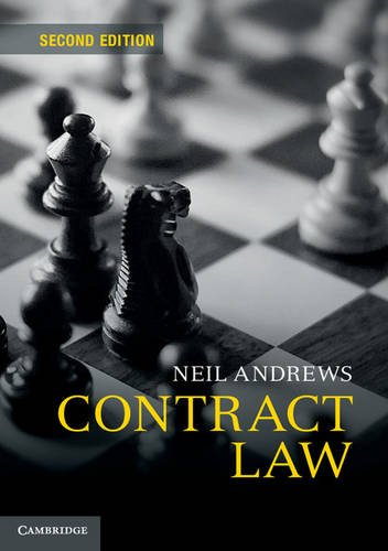 Contract Law by Neil Andrews (University of Cambridge)