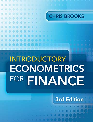Introductory Econometrics for Finance By Chris Brooks (University of Reading)