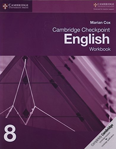 Cambridge Checkpoint English Workbook 8 von Marian Cox