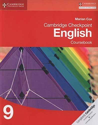 Cambridge Checkpoint English Coursebook 9 von Marian Cox