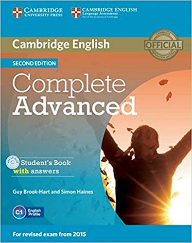 Complete Advanced Student's Book with Answers with CD-ROM By Guy Brook-Hart