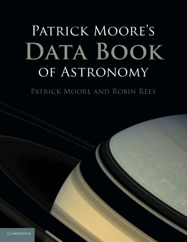 Patrick Moore's Data Book of Astronomy By CBE, DSc, FRAS, Sir Patrick Moore