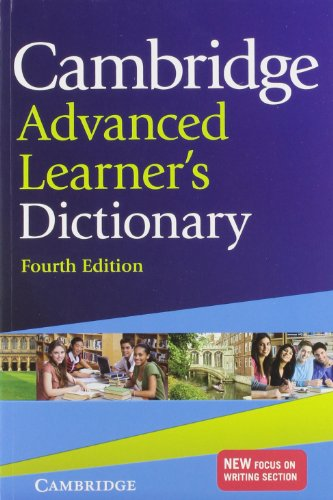 Cambridge Advanced Learner's Dictionary By Colin McIntosh