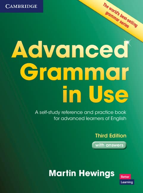 Advanced Grammar in Use with Answers By Martin Hewings (University of Birmingham)