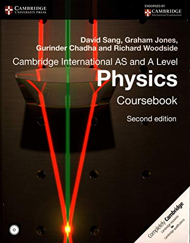 Cambridge International AS and A Level Physics Coursebook with CD-ROM (Cambridge International Examinations) By David Sang