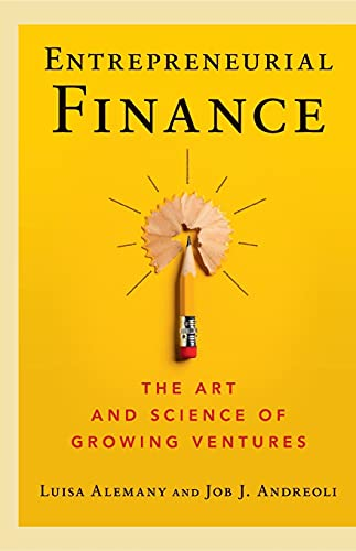 Entrepreneurial Finance By Luisa Alemany