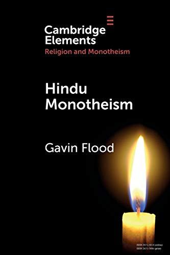 Hindu Monotheism By Gavin Dennis Flood (Yale University, Connecticut)