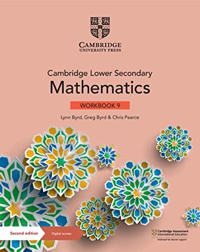 Cambridge Lower Secondary Mathematics Workbook 9 with Digital Access (1 Year) von Lynn Byrd