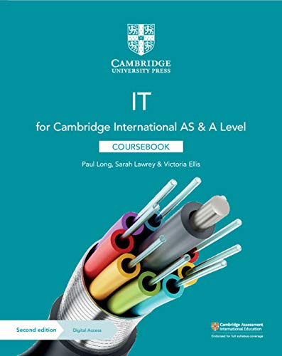 Cambridge International AS & A Level IT Coursebook with Digital Access (2 Years) By Paul Long