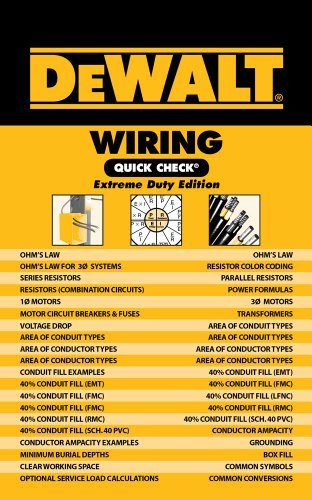 DeWalt Wiring Quick Check: Extreme Duty Edition By Chris Prince