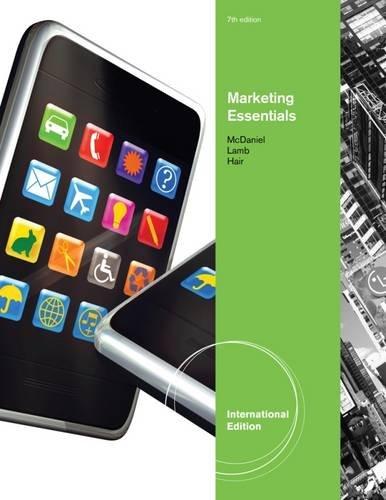 Essentials of Marketing By Prof Carl McDaniel