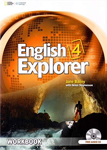 English Explorer 4: Workbook with Audio CD By Jane M. Bailey