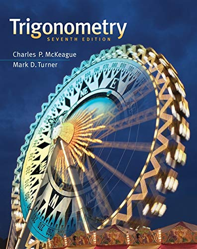 Trigonometry Student Solutions Manual By Charles P McKeague