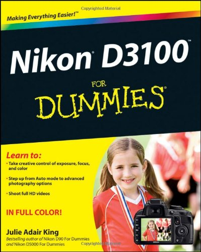 Nikon D3100 for Dummies By King