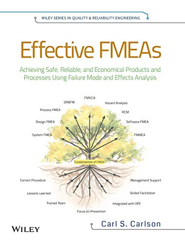 Effective FMEAs: Achieving Safe, Reliable, and Economical Products and Processes using Failure Mode and Effects Analysis by Carl Carlson
