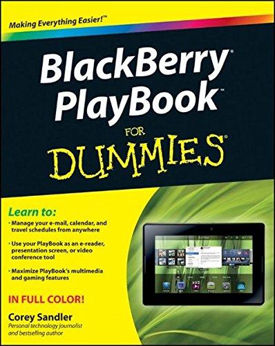 BlackBerry PlayBook For Dummies By Corey Sandler