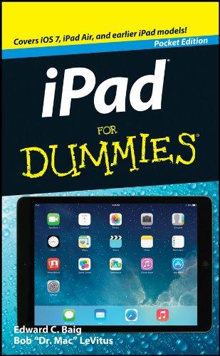 Ipad for Dummies By Edward C Baig