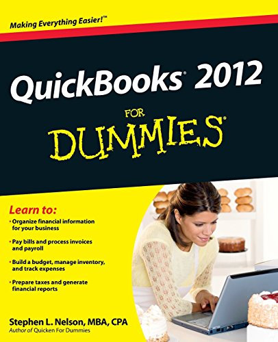 Quickbooks 2012 For Dummies By Stephen L. Nelson