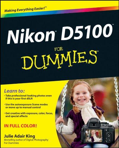 Nikon D5100 for Dummies by King, Julie Adair Book The Cheap Fast Free Post