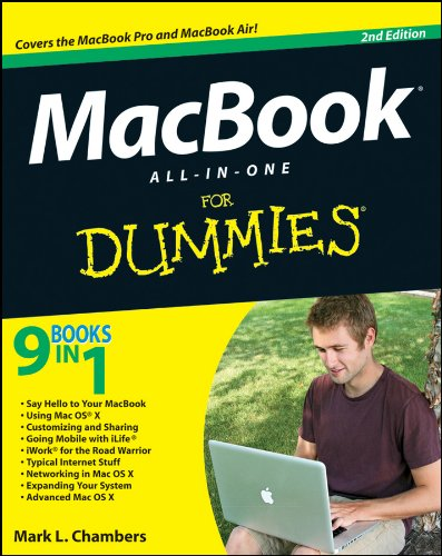 MacBook All-in-One For Dummies By Mark L. Chambers