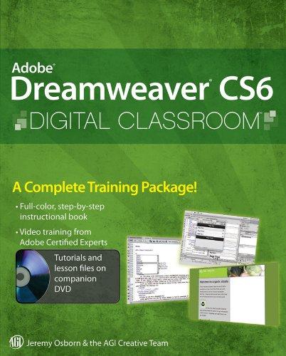 Adobe Dreamweaver CS6 Digital Classroom By Jeremy Osborn