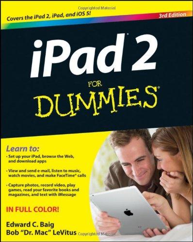 iPad 2 For Dummies By Edward C. Baig