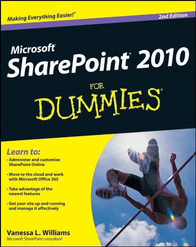 SharePoint 2010 For Dummies By Vanessa L. Williams