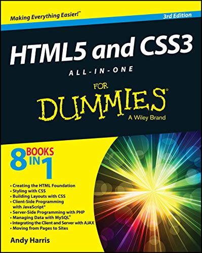 HTML5 and CSS3 All-in-One For Dummies By Andy Harris