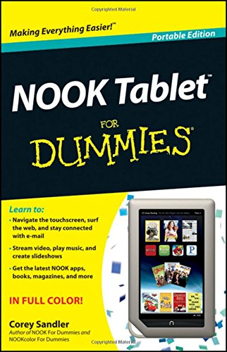 NOOK Tablet for Dummies By Corey Sandler (Word Association and  of Fix Your Own PC)