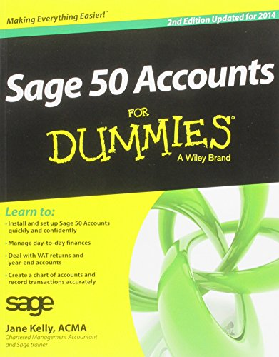 Sage 50 Accounts For Dummies: 2014 by Jane Kelly