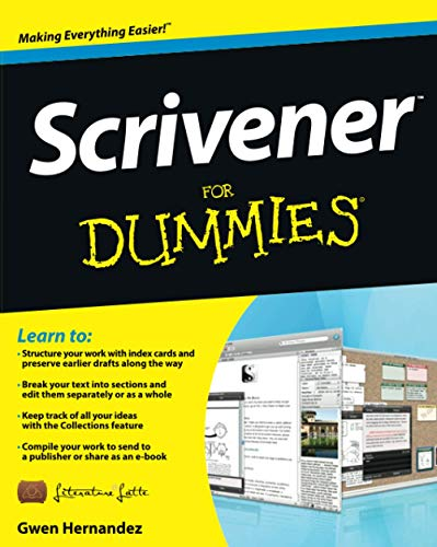 Scrivener For Dummies By Gwen Hernandez