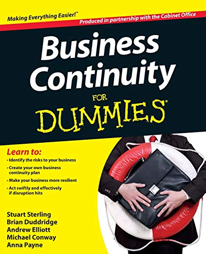 Business Continuity For Dummies By The Cabinet Office
