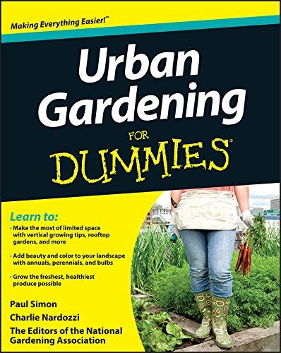 Urban Gardening For Dummies By National Gardening Association