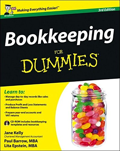 Bookkeeping For Dummies By Jane Kelly